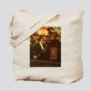 Orchestra of Opera by Degas Tote Bag