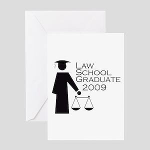 Law School Graduate 2009 Greeting Card