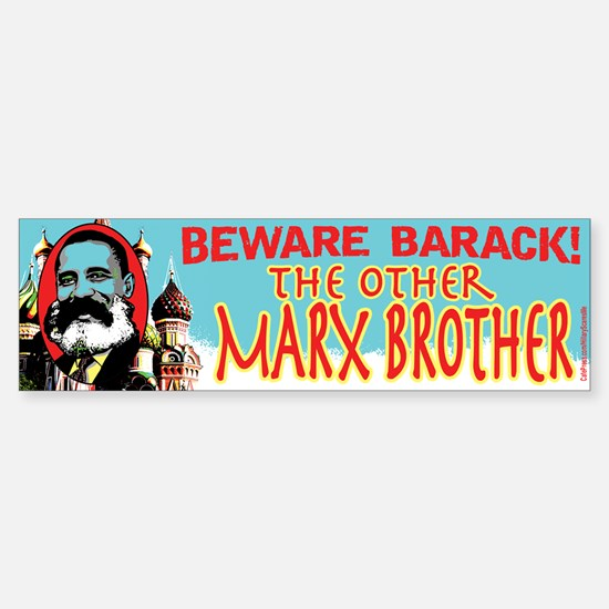 Marx Brother Anti Obama Bumper Bumper Bumper Sticker