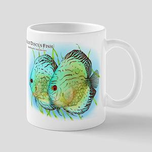 Blue Discus Fish Mug