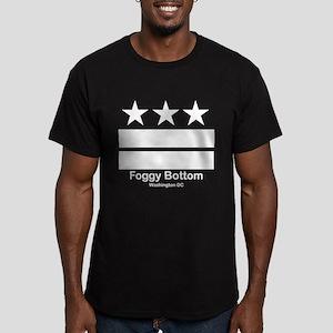 Foggy Bottom Washington DC Men's Fitted T-Shirt (d