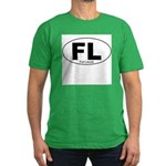 Fort Lincoln Decal-style Men's Fitted T-Shirt (dar