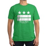 Glover Park Washington DC Men's Fitted T-Shirt (da