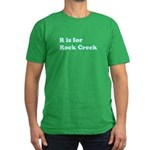 R is for Rock Creek Men's Fitted T-Shirt (dark)