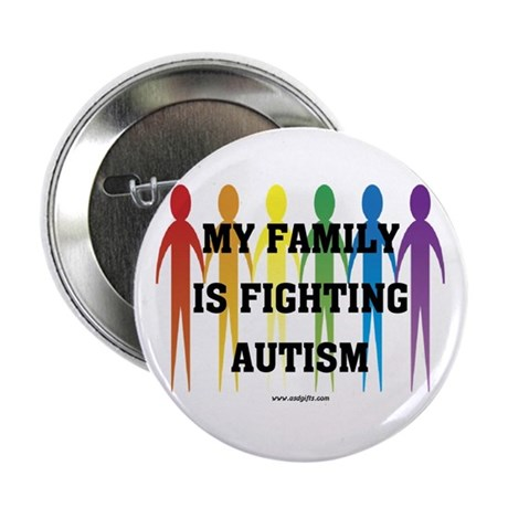 "Fighting Autism 2.25"" Button"