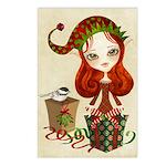 Jollybelle Christmas Greeting Postcards (Pk of 8)