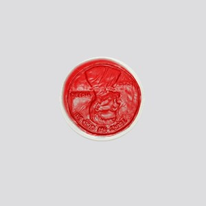 NOT ONE RED CENT Mini Button