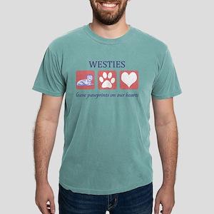 West Highland White Terrier Pawprints T-Shirt