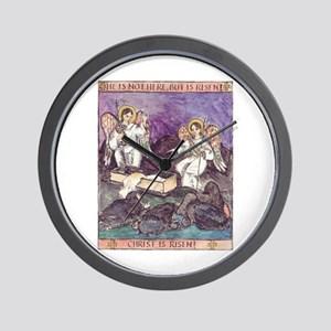 He is not Here - He is Risen! Wall Clock