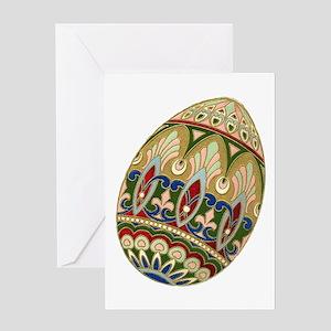 Ornate Easter Egg Greeting Card