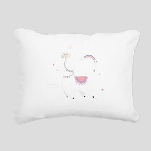lama lover Rectangular Canvas Pillow