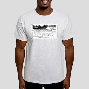 03/28/1909: Danville, VA Light T-Shirt