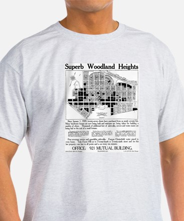 03/28/1909: Woodland Heights T-Shirt