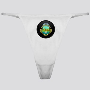 Coat of Arms of Costa Rica Classic Thong