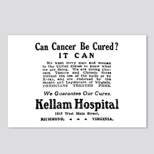 03/28/1909: Cancer Cure Postcards (Package of 8)