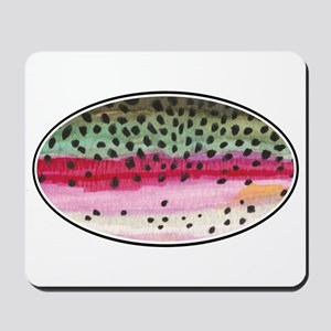 Rainbow Trout Fishing Mousepad