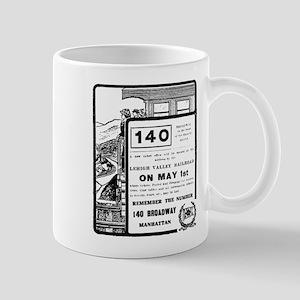 04/28/1909: Lehigh Valley R.R. Mug