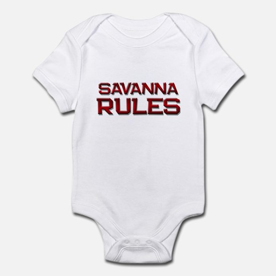 savanna rules Infant Bodysuit
