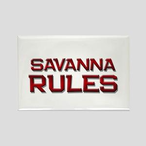 savanna rules Rectangle Magnet