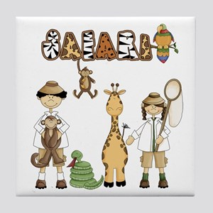 Safari Tile Coaster