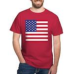 American Flag Black T-Shirt