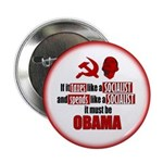 """It must be Obama 2.25"""" Button (100 pack)"""