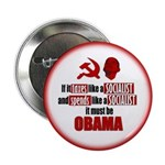 """It must be Obama 2.25"""" Button"""