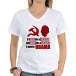 It must be Obama Women's V-Neck T-Shirt