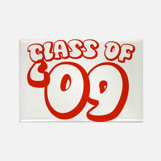 Class Of 09 (Red Bubble) Rectangle Magnet (100 pac