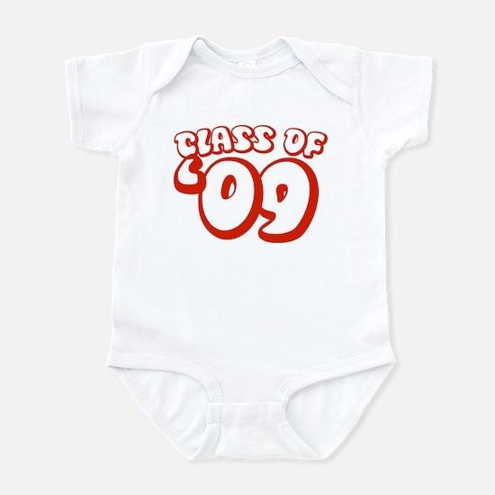 Class Of 09 (Red Bubble) Infant Bodysuit