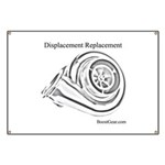 Displacement Replacement - Turbo Race Banner