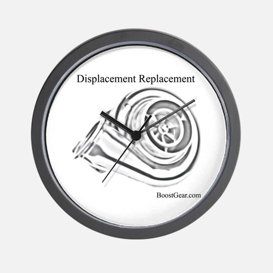 Displacement Replacement - Wall Clock by BoostGear