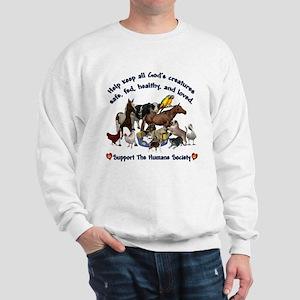 All Gods Creatures Sweatshirt