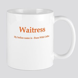 Waitress Indian Name Mug