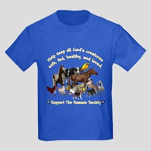 All Gods Creatures Kids Dark T-Shirt