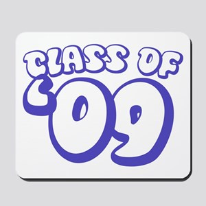 Class Of 09 (Purple Bubble) Mousepad