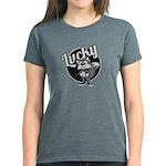 Womens Retro Lucky T-Shirt