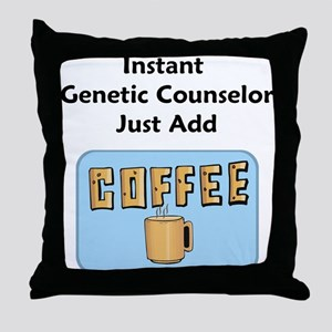 Genetic Counselor Throw Pillow