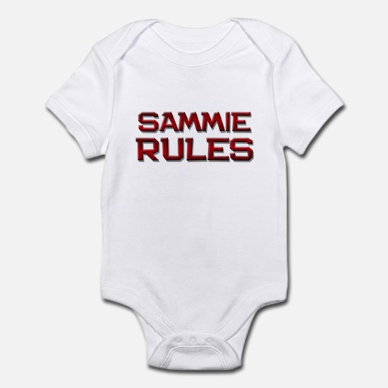 sammie rules Infant Bodysuit