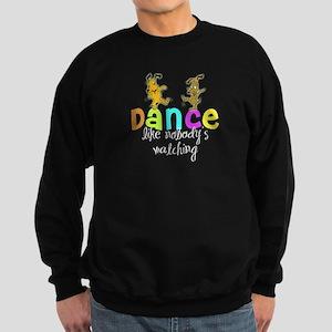 Dancing Puppies Sweatshirt (dark)