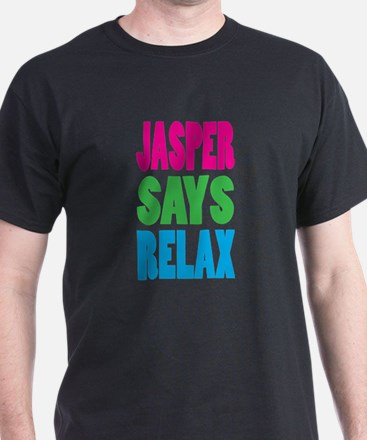 Jasper Says Relax (Color) T-Shirt