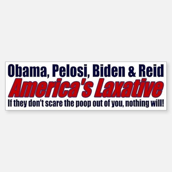 Scare the Poop out of you... Bumper Bumper Bumper Sticker