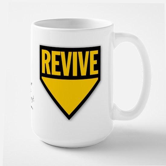 Revive Yellow Large Mug