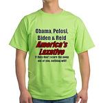 America's Laxative Green T-Shirt
