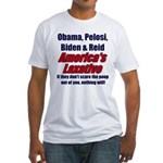 America's Laxative Fitted T-Shirt