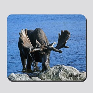Bull in velvet Mousepad