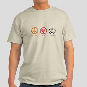 peace-love-shiloh Light T-Shirt