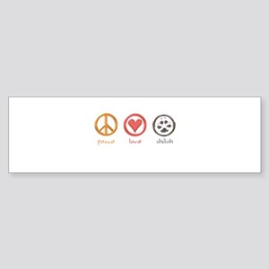 peace-love-shiloh Bumper Sticker (10 pk)