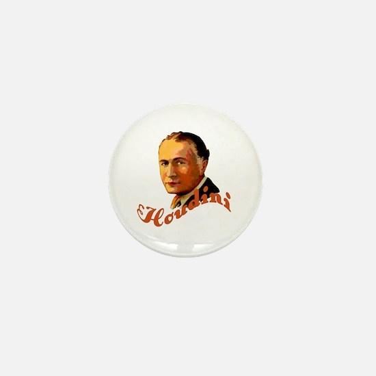 Harry Houdini Portrait Mini Button