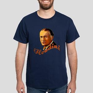 Harry Houdini Portrait Dark T-Shirt